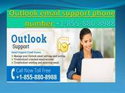 Outlook email support phone number +1-855-880-8988