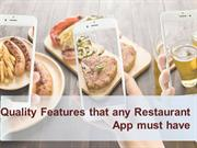 What it takes to develop a restaurant app