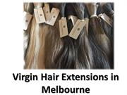 Virgin Hair Extensions Melbourne