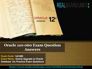 Oracle 1z0-060 Free Demo Questions
