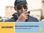 Best Static Security Guard