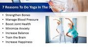 7 Reasons to Do Yoga in the Senior Years