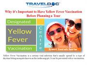 Why it's Important to Have Yellow Fever Vaccination