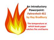 Fahrenheit451 An Introductory Powerpoint