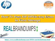 How To Pass HP HPE6-A29 Exam In First Attempt