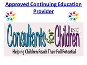 Approved Continuing Education Provider