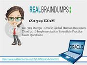 Get Real Exam Question And Answers For Oracle 1z0-329