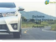 Exclusive Car Detailing Services And Packages