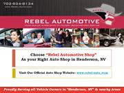 Do you Know How to Choose the Right Auto Shop in Henderson, NV?