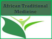 African Traditional Medicine