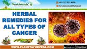 Ayurvedic Treatment for Various Cancer Disease