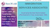 Australia Visa Consultants in Delhi - Australia Skilled Nominated Visa