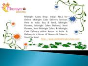 Midnight Cake Delivery online in India