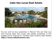 Selling Real Estate in Los Cabos