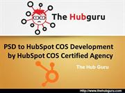 PSD to HubSpot COS Development by HubSpot COS Certified Agency