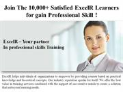 Join The 10,000+ Satisfied ExcelR Learners for gain Professional Skill