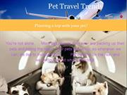 Planning a trip with your Furry Friend ?