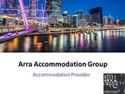 Cheap Accommodation: Arra Accommodation Group