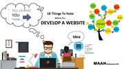 18 Things to note before you develop a website