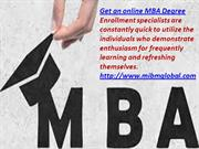MBA Degree Online degree programs accessible to MIBM GLOBAL