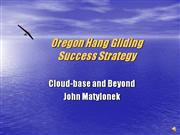Oregon Hang Gliding Success Strategy