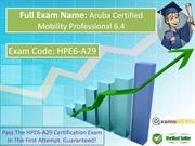 How TO Pass HP HPE6-A29 Exam?