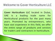 gover horticulture ppt