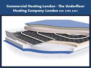 Commercial Heating London