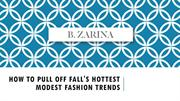 How to Pull off Fall's Hottest Modest Fashion Trends