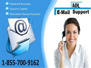 AOL Email Customer Support Number 1-855-700-9162
