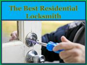 The Best Residential Locksmith