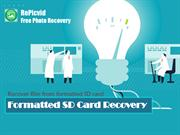 Formatted SD Card Recovery