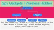 Spy Hidden Camera In Delhi India I Mini Spy Cameras