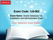 Examsberg Oracle 1Z0-062 Questions Answer