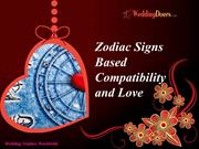 Zodiac Signs Based Compatibility and Love