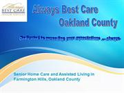 Assisted Living Waterford - Always Best Care