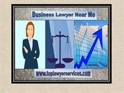 How to Find and Select a Business Lawyer