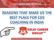 BEST CDS COACHING IN DELHI
