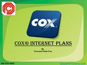 Cox Internet Plans | Consumer Triple Play | 866-936-9808