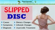 Ayurvedic Treatment for Slipped Disc