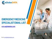 Emergency Medicine Specialist Email List