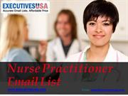 Nurse Practitioner Email List