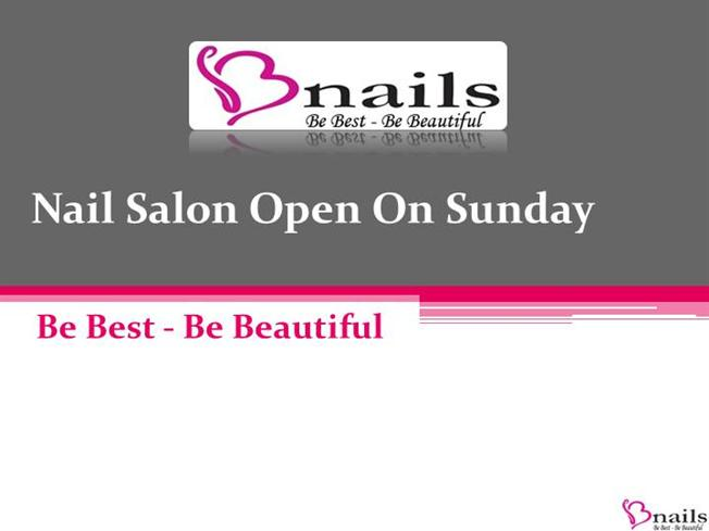 Best Nail Salon in Hereford Which Open on Sunday  authorSTREAM