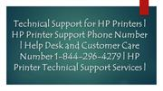 Technical Support for HP Printers | HP Printer Support Phone Number