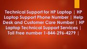 Technical Support for HP Laptop | HP Laptop Support Phone Number
