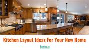 Kitchen Layout ideas For Your New Home-Interior Design
