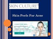 Skin Peels For Acne