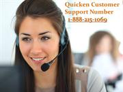 1-888-215-1069 Quicken Tech Support Number