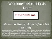 Transfers Mauritius, Taxi Mauritius Airport from mauritaxis.com