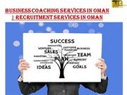 Business Coaching Services in Oman | Recruitment services in Oman